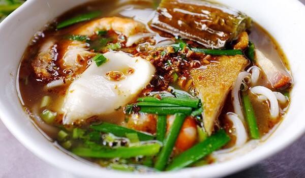 Quán bún chả cá Hờn tại Nguyễn Chí Thanh