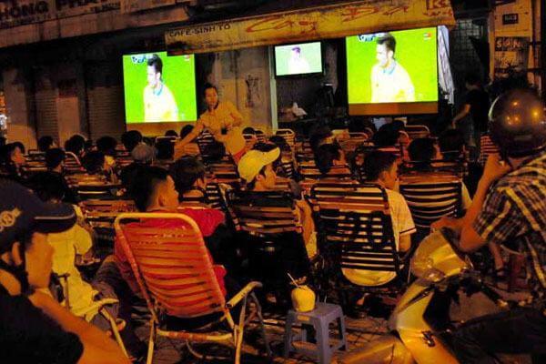 Top những quán Cafe xem bóng đá mà Massageishealthy đã tuyển lọc