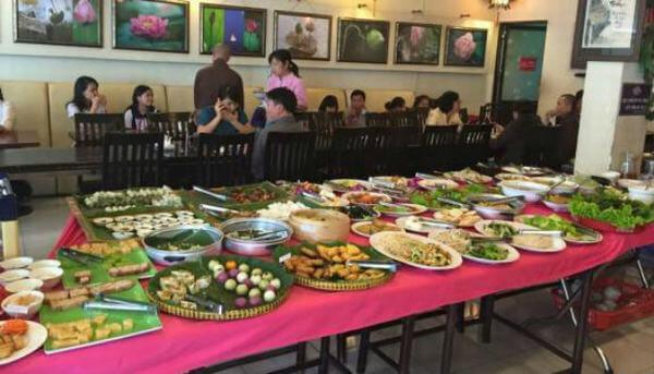 Cơm Chay Hương Sen – Hồ Văn Huê
