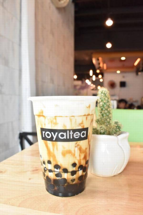 Sữa tươi trân châu đường đen Royal Tea
