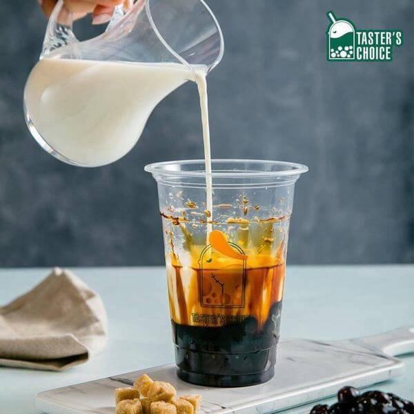 Sữa tươi trân châu đường đen Taster's Choice - Hà Nội
