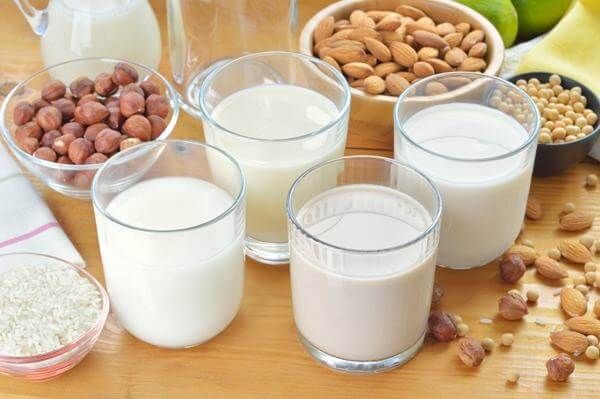Các sản phẩm từ sữa có nhiều chất canxi