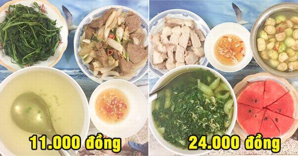 13 bữa cơm dành cho 2 người giá chỉ từ 8.000 – 25.000 đồng