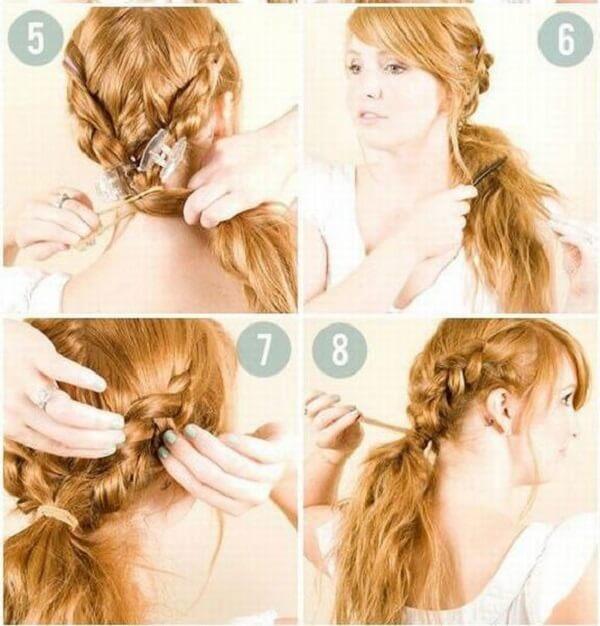 Những kiểu tết tóc đẹp - Cách tết tóc đơn giản đi học, đi làm