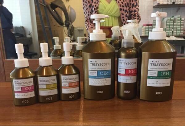 Bộ sản phẩm chuyên phục hồi tóc hư tổn nặng Number Three Trisycoore