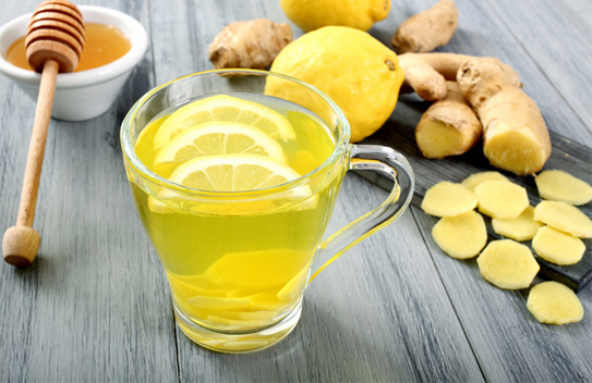 Cách chữa ợ nóng bằng uống trà gừng