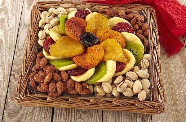 Trái cây sấy khô - ăn gì bổ sung canxi cho mẹ bầu, phụ nữ mang thai