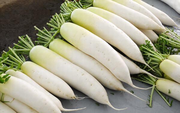 Ăn gì bổ sung máu chính là củ cải trắng