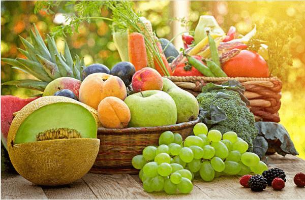 Sử dụng trái cây để tiêu hóa tốt hơn