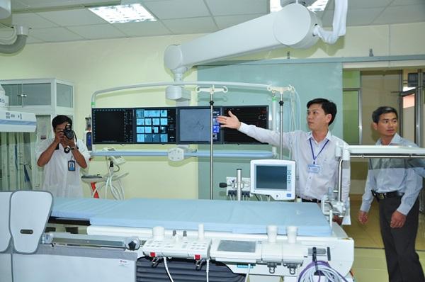 Trang thiết bị cho dịch vụ tim mạch can thiệp