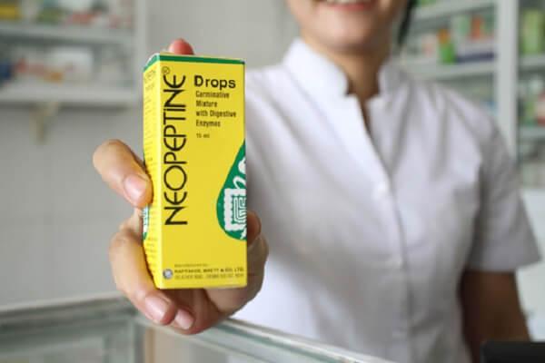 Dùng Men Neopeptin trị khó tiêu