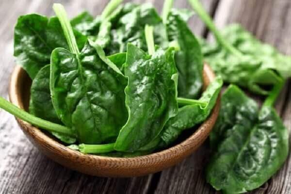 Bị trào ngược dạ dày nên ăn rau rau chân vịt