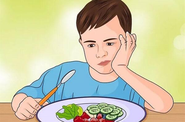 Triệu chứng đau dạ dày tá tràng là đầy chướng bụng, ăn nhanh no