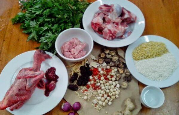 Chuẩn bị nấu - Bồ câu hầm thuốc bắc có tác dụng gì. Cách nấu cho bà bầu