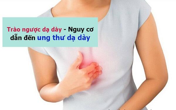 Trào ngược dạ dày thường có biểu hiện đau tức thượng vị, nóng rát và có dấu hiệu ợ chua