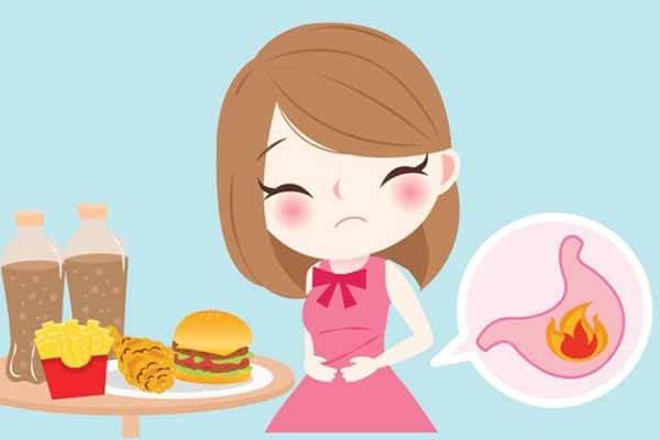 Triệu chứng bệnh đường tiêu hóa: Chướng bụng, đầy hơi, khó tiêu