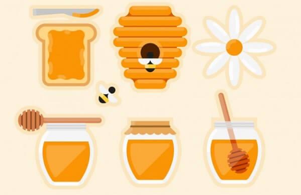 Mật ong được sử dụng như một chất làm ngọt thay đường