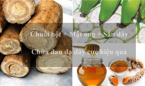 Chuối hột - Cây thuốc Nam chữa bệnh dạ dày, cay thuoc nam chua benh da day