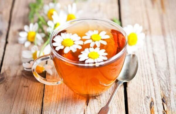 Cách chữa bệnh trào ngược dạ dày bằng uống trà hoa cúc Đức - Các bài thuốc dân gian chữa trào ngược dạ dày thực quản tại nhà