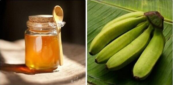 Cách chữa đau dạ dày bằng mật ong và chuối xanh