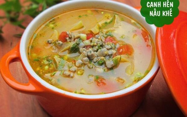 Cách nấu canh hến ngon với cà chua, khế chua thì là ngon nhất chỉ 30p đơn giản tại nhà