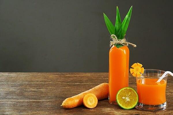 Hoàn thành cách làm sinh tố cà rốt ngon giảm cân đẹp da, tốt cho bà bầu