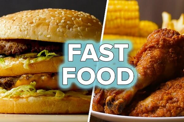 Hạn chế các thức ăn nhanh