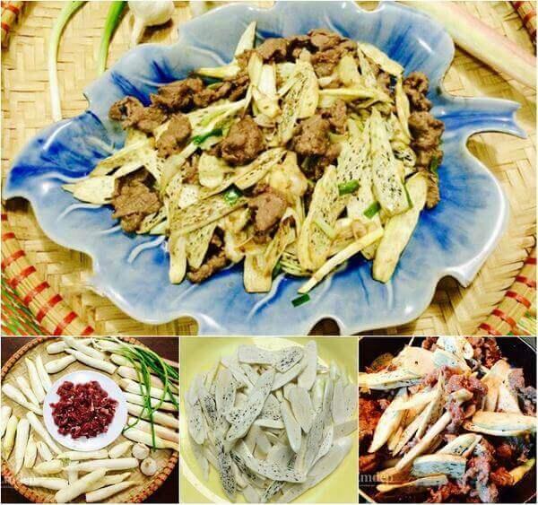 Củ niễng nấu món gì ăn, cách chế biến củ niễng