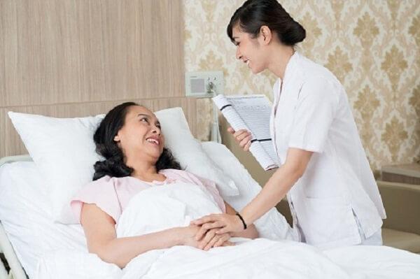 bệnh nhân cần giữ thái độ bình tĩnh khi phát hiện mình mắc bệnh