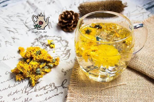 Trà hoa cúc - Đau dạ dày uống gì - Đau dạ dày nên uống nước gì tốt