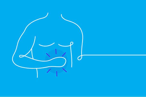 Đau thượng vị và lan tỏa lên ngực – Biểu hiệncủa bệnh đau vùng thượng vị dạ dày