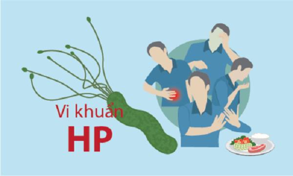 Vi khuẩn HP có tên khoa học là Helicobacter Pylori