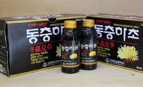Những tác dụng của đông trùng hạ thảo Hàn Quốc dạng nước