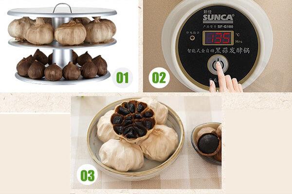 Hướng dẫn cách làm tỏi đen bằng nồi cơm điện tại nhà chỉ 2 tuần