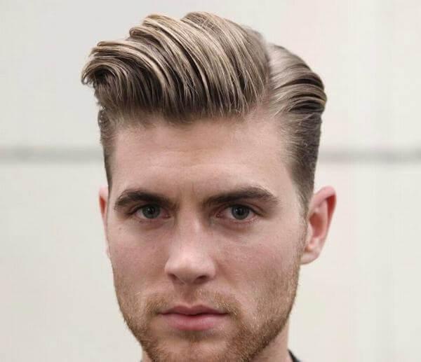 Một sự kết hợp hoàn hảo của 2 kiểu tóc nam Side Part và Pompadour