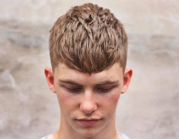 Kiểu tóc này được ưa chuộng bởi những chàng trai yêu thích thể thao