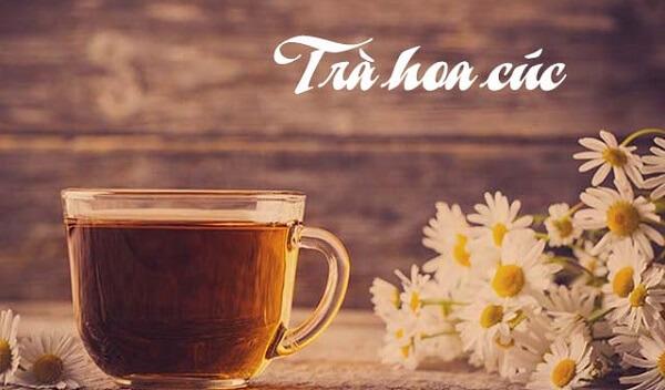 Mẹo chữa đau dạ dày tại nhà bằng trà hoa cúc