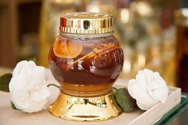 Hoàn thành hũ nghệ ngâm mật ong không bị sủi bọt trắng tại nhà
