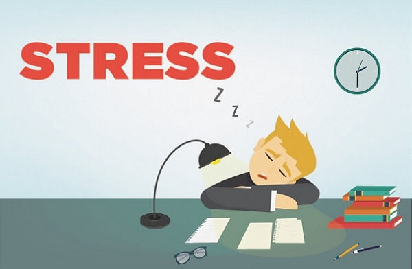 Do công việc căng thẳng, ăn uống thất thường làm mắc benh roi loan tieu hoa