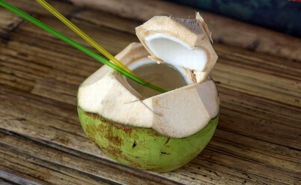 Cùi dừa còn là một món ăn ngon, bùi, đậm đà hương vị… Thành phần của nước dừa chứa nhiều vitamin, chất khoáng