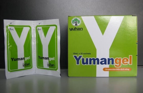 Tác dụng phụ của thuốc dạ dày yumangel