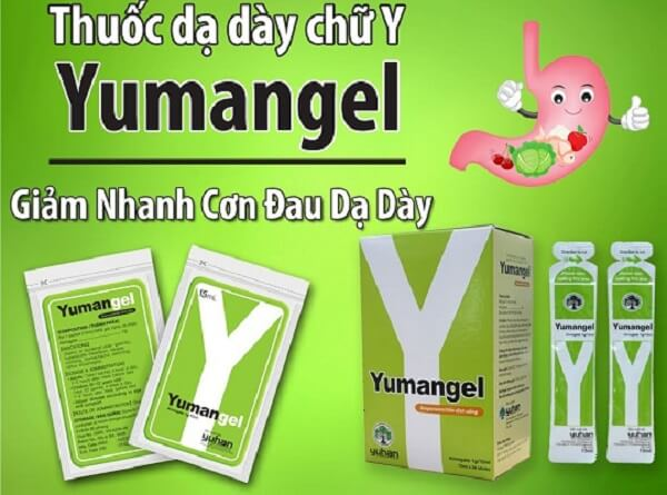 Thuốc đau dạ dày chữ y (yumangel) có tốt không, giá bao nhiêu tiền?