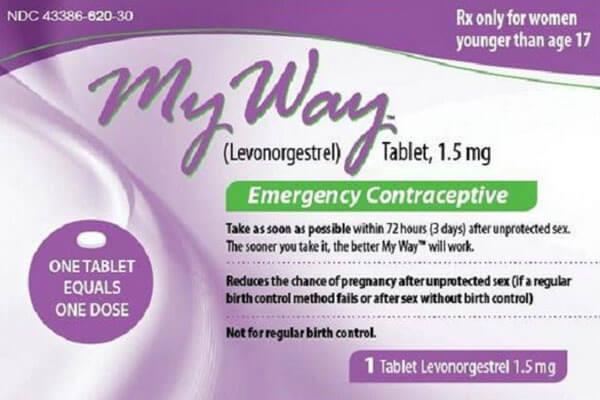 [Wiki Thuốc] Thuốc tránh thai My Way – Liều lượng, cách dùng
