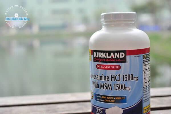 Uống Glucosamine bao lâu thì có tác dụng?