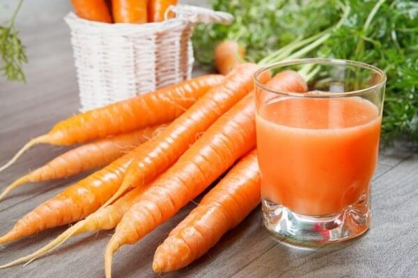 Uống sinh tố cà rốt có tác dụng gì, có mập không?