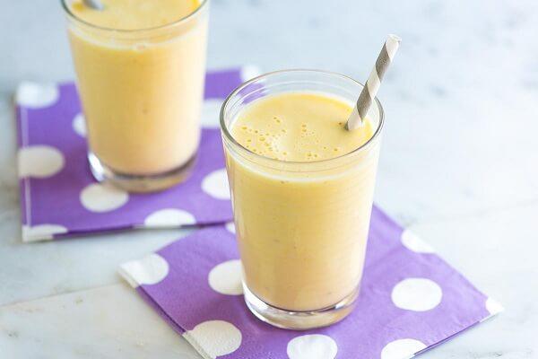 Cách làm sinh tố chuối dứa sữa chua giảm cân, 4 tác dụng của việc sinh tố chuối uống có mập không? 1
