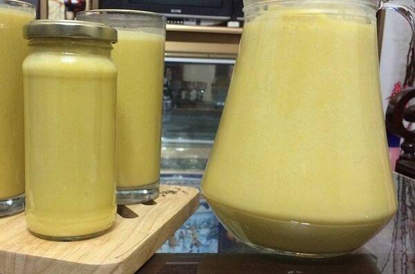Công thức chế biến sữa bí đỏ tăng cân hiệu quả
