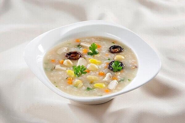 Cháo hạt sen - Bệnh đau dạ dày nên ăn gì tốt, đau bao tử kiêng ăn thực phẩm nào