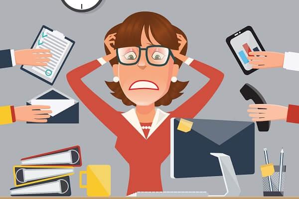 Những áp lực trong công việc, cuộc sống cũng là nguyên nhân hàng đầu gây bệnh