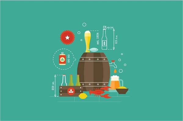 Kiêng cử bia rượu - Viêm niêm mạc dạ dày kiêng ăn gì, kiêng thực phẩm nào?